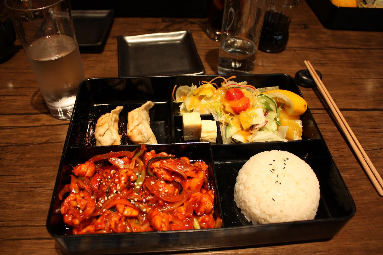 Maguros beef bento box