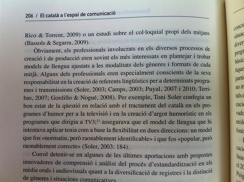 'El català a l'espai de comunicació. El procés de normalització de la llengua als mèdia (1976-2013)' de Josep Gifreu