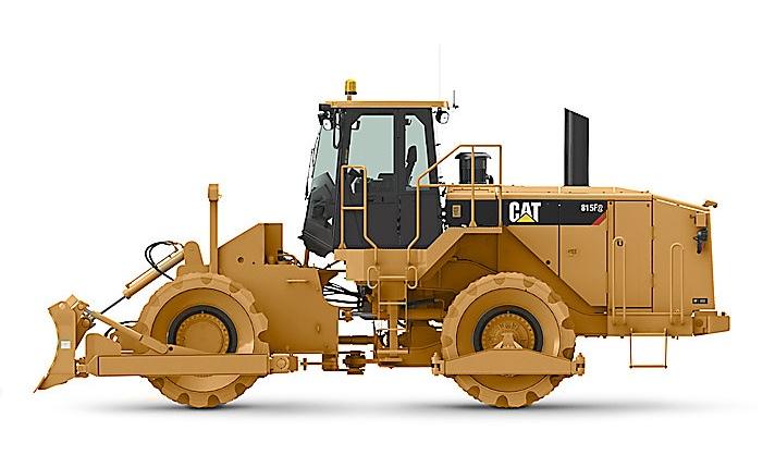 Cat 815F soil compactor