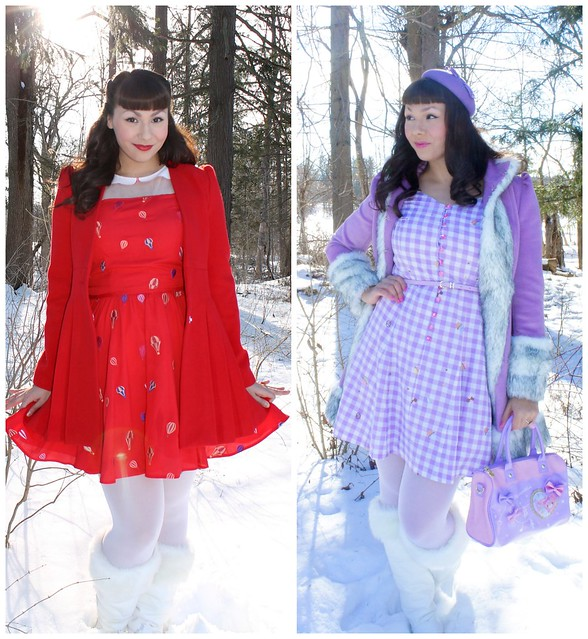 Nishe winter dresses