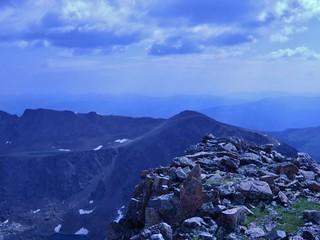 Notch Mountain from Holy Cross Ridge