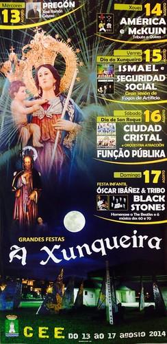 Cee 2014 - Festas da Virxe da Xunqueira - cartel