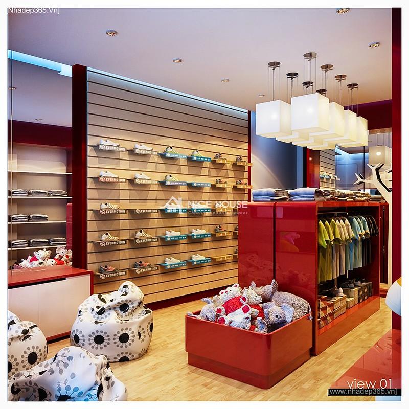 Nội thất cửa hàng Kid Shop_1