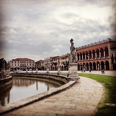 Roads and rivers lead to the sister of Rome -- Padova, #italy