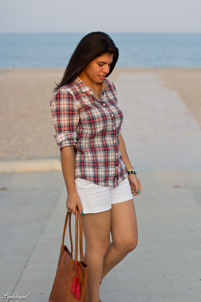 plaid shirt, white shorts-2.jpg