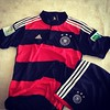 Söz vermişdim ki, #Almaniya #çempion olsa, heyatımda ilk defe #forma alacam :) Bu da o!    My #first #football #jersey #Germany #away #WorldChampions #WorldCup #2014 #Brasil #FIFA #Deutschland #Adidas #DFBteam