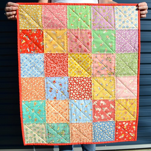 Little 1930's repro print quilts