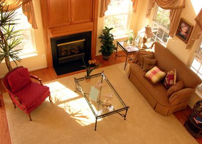 Phòng khách gọn gàng tiếp thêm sinh khí cho ngôi nhà