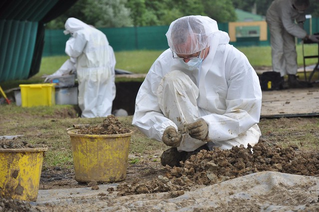 Archaeological Team at Work in Fromelles.jpg