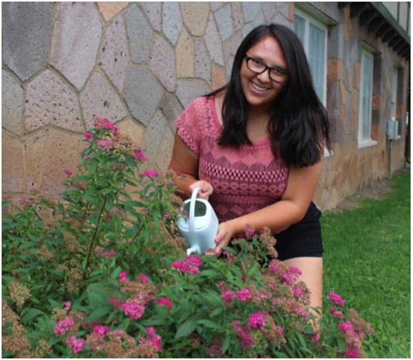 Esperanza Tapia is a second-year recipient of the Los Alamos Summer Youth Business Grant program. The program is part of the Youth Entrepreneurship Series that's co-sponsored by LANS, LLC. It also includes the Espanola Valley Teen Biz Challenge mentioned below and similar events for young entrepreneurs in Taos and Santa Fe.