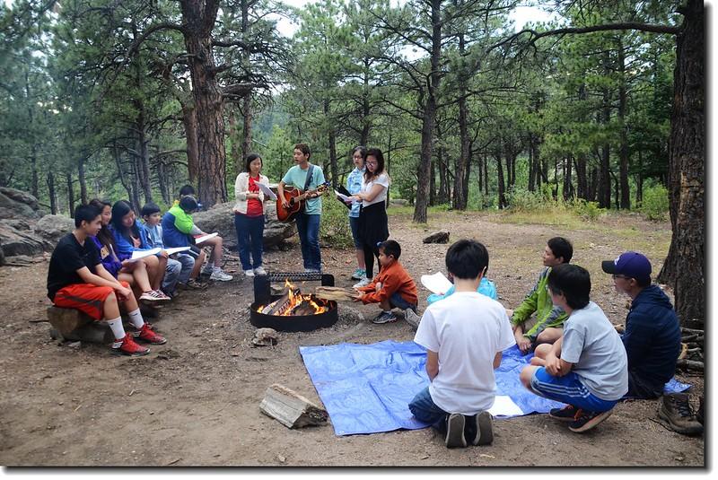 Campfire worship 2
