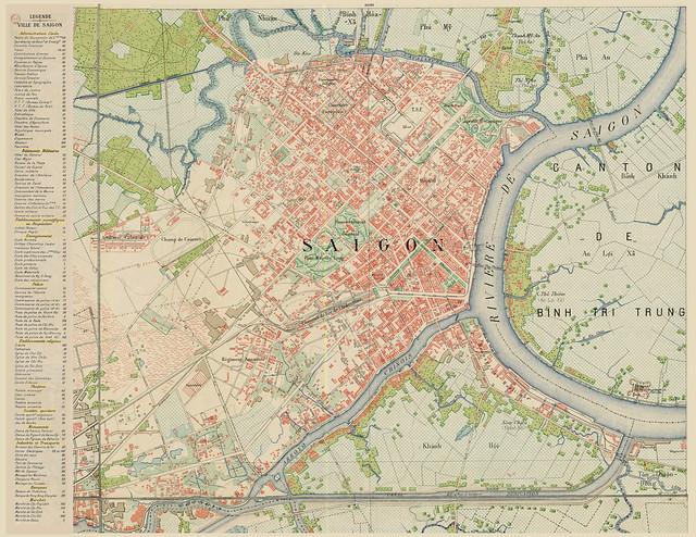 Bản đồ SAIGON 1923