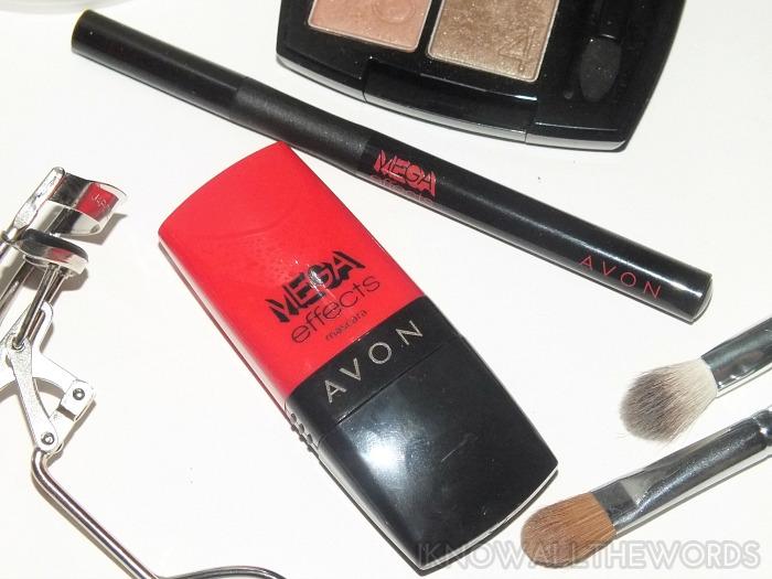 avon mega effects mascara and liquid eyeliner (3)