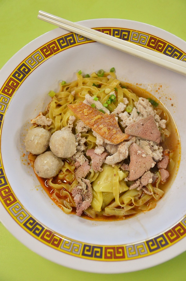Bak Chor Mee @ Tai Wah Pork Noodle