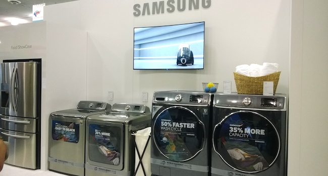 Samsung Home Appliances at BlogHer14