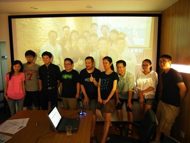 創業酒吧和中國創業團隊對談
