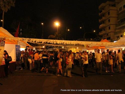 Wine festival, Los Cristianos