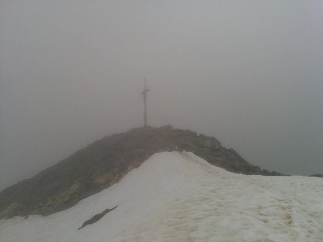 Gipfelkreuz Hasenöhrl 3.257 m, Vinschgau