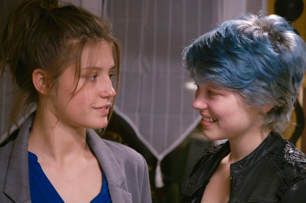 blue is the warmest color - movie