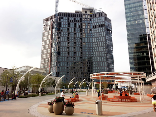 With its new plaza, Tysons begins to feel urban