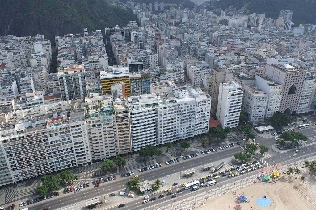 Avenida Atlântica, Praia de Copacabana. Rio de Janeiro, Brasil