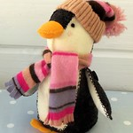 Winter Penguin Softie