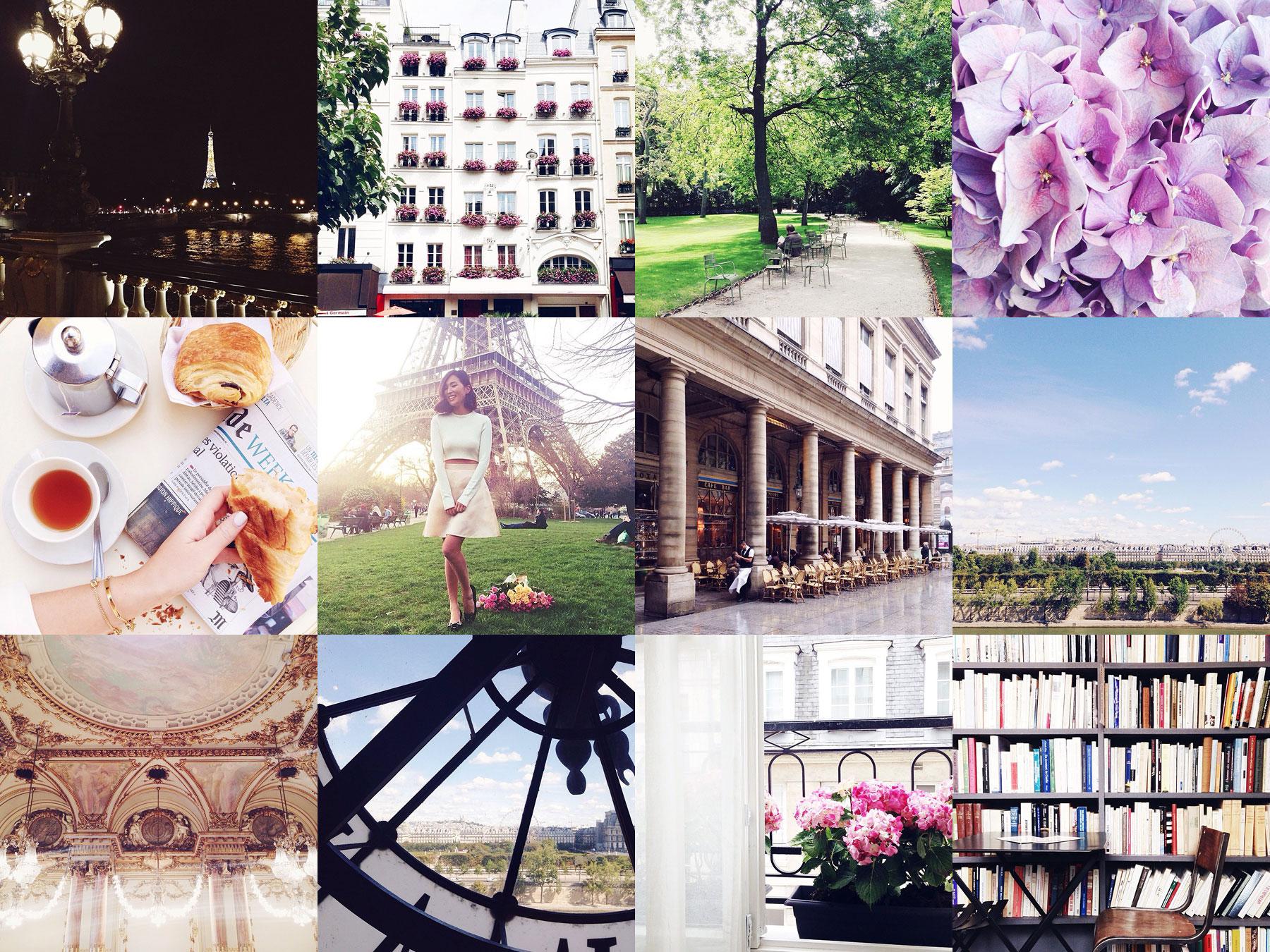 """""""Paris in Four Months"""" on Instagram"""