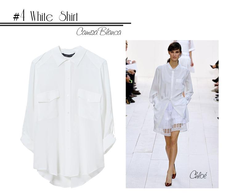 4 White Shirt