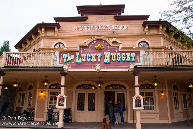 Dinner at The Lucky Nugget