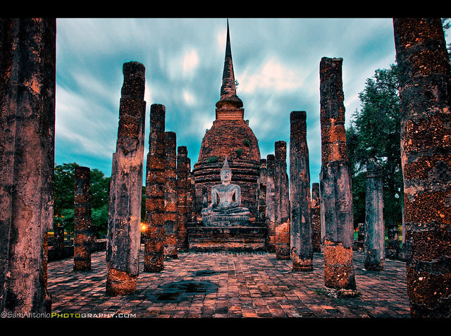 Finding Happiness at Sukhothai, Thailand