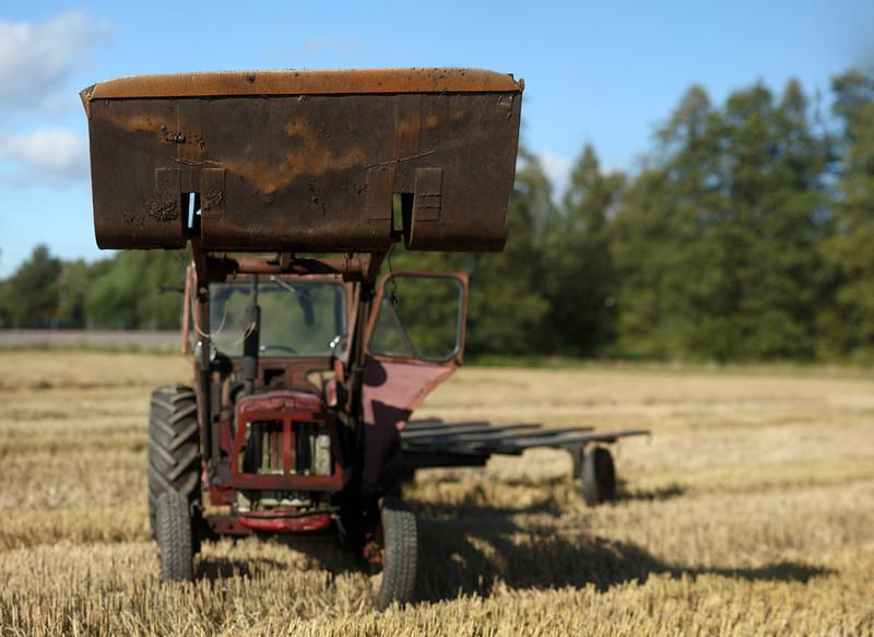 Ye olde tractor