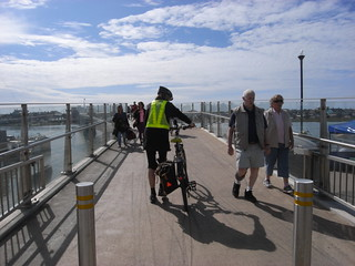 New Shoreham footbridge
