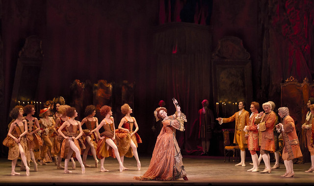Genesia Rosato and members of the corps de ballet in Manon, The Royal Ballet © ROH/Johan Persson, 2011