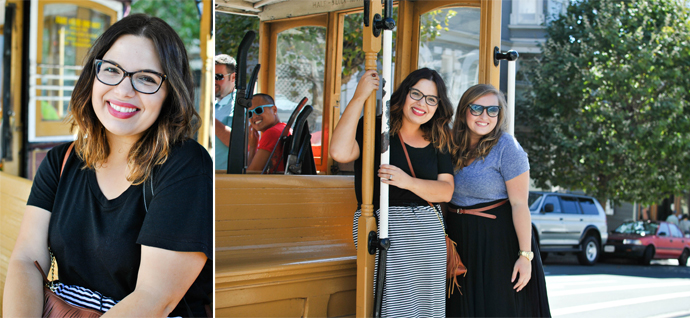 danica, summer, blogging friends, adventure, sf, cable cars, golden gate bridge
