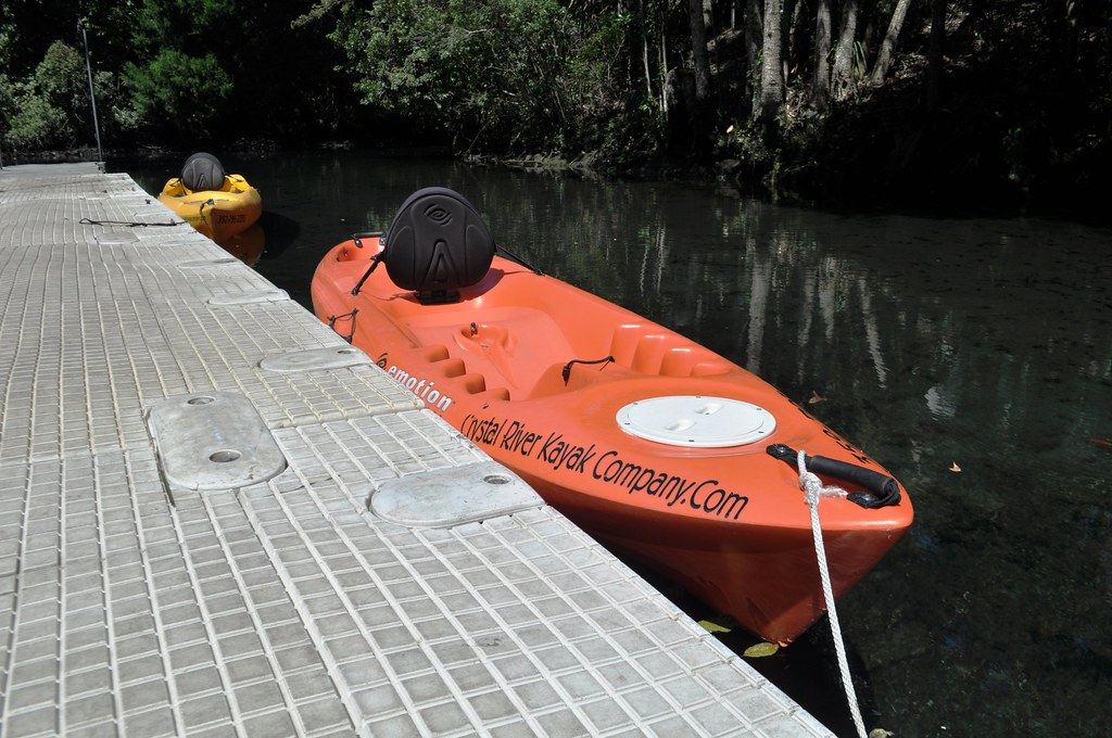 I Rented My Kayak from the Crystal River Kayak Company, Crystal River, Fla.