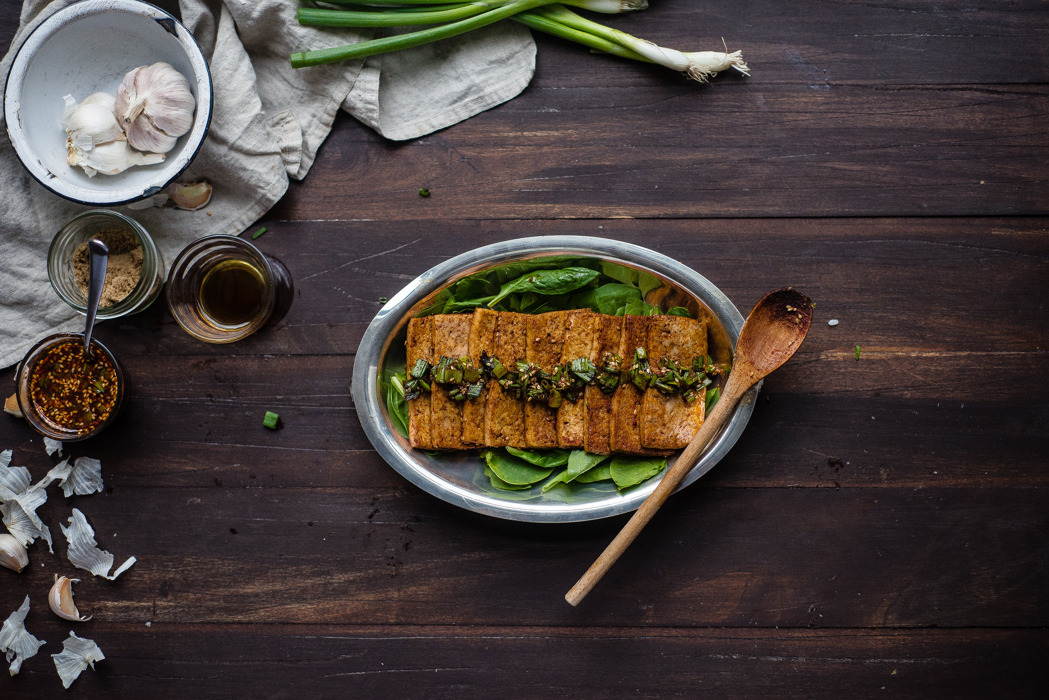 dubu jorim (korean soy-braised tofu)