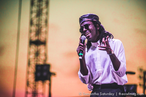 Blood Orange @ FYF Fest 2014, Sunday