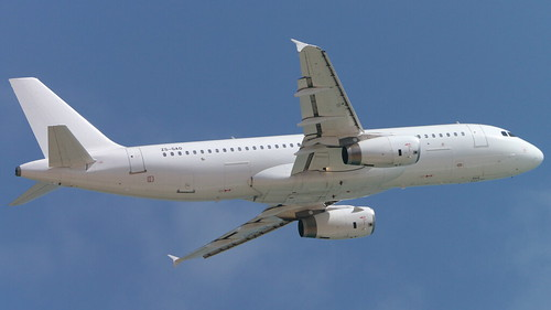 ZS-GAO operated for Senegal Airlines