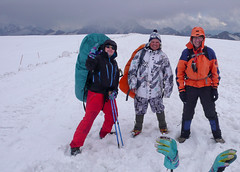 Podejście aklimatyzacyjne do Skał Pastuchova