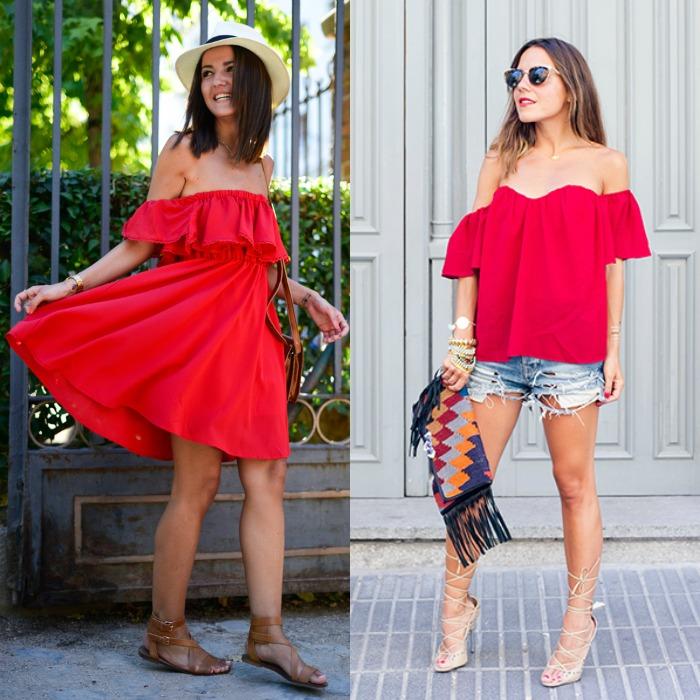 vestido rojo lovely pepa