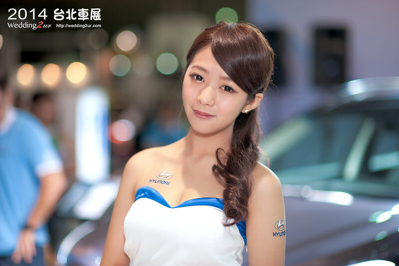 2014台北車展 show girl,43