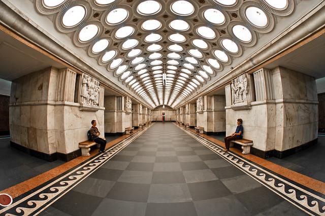 Elektrozavodskaya Metro Station, Moscow