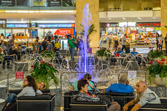 Ben Gurion Airport, Central Hall