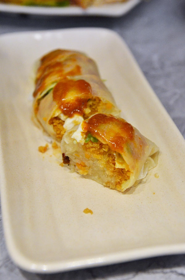 Crab Meat Popiah