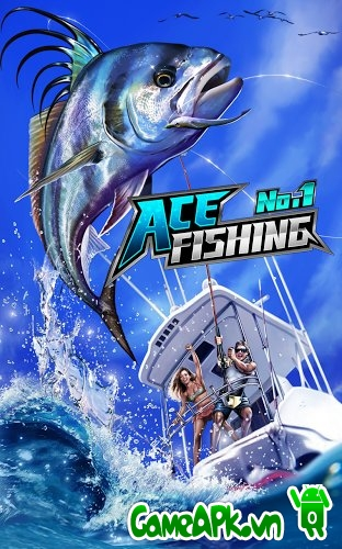Ace Fishing: Wild Catch v1.3.4 hack full cho Android