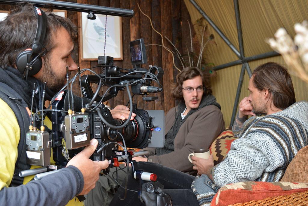 "2 - ""Wild Hotels"" : Danish TV filming at Ecocamp"