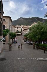 Calles de Valldemossa (Mallorca, España)