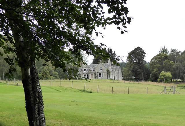 Graigowan Lodge, Balmoral Castle Estate, Crathie, Nr Ballater, Royal Deeside, Cairngorms National Park, Aberdeenshire, Scotland, UK