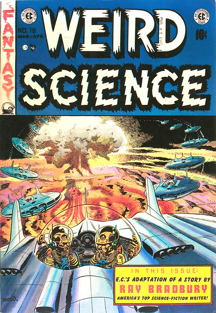 Weird Science #18 (1953) Cover by Wally Wood