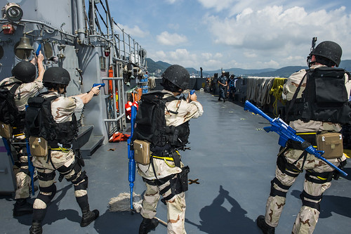 USS Germantown Completes VBSS Certification